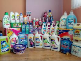 Внос от Англия на Почистващи Препарати