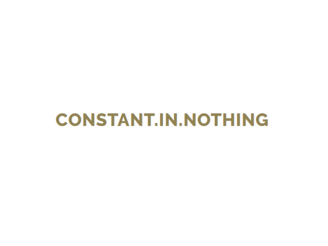 Constant.in.nothinG - личен блог