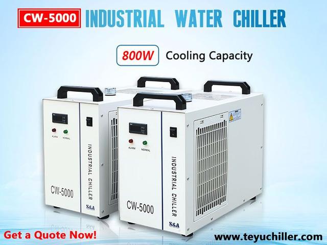 Воден чиллер CW5000 за лазерни резачки
